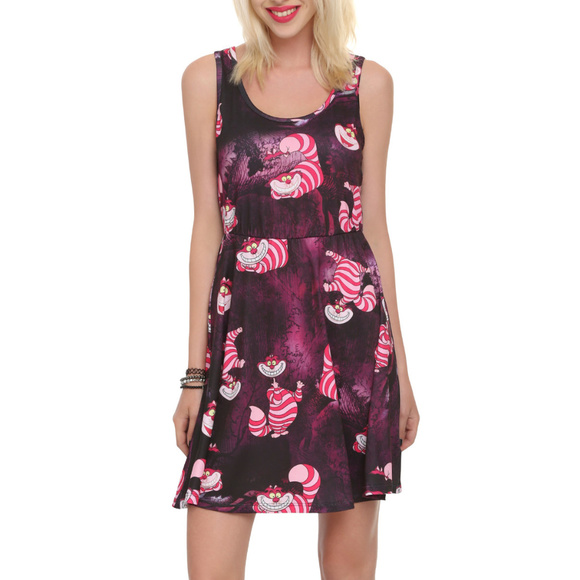 2896d9b22 Disney Dresses & Skirts - Disney Alice in Wonderland Cheshire Cat Dress